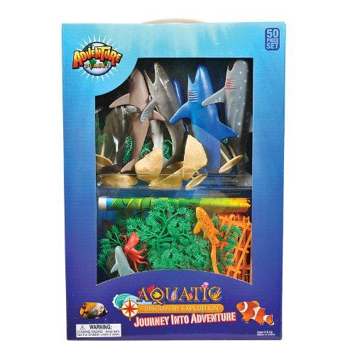 Adventure Planet Aquatic Box 50 Piece