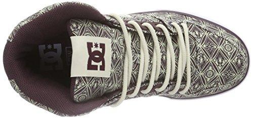 DC Shoes, SPARTAN HIGH WC J SHOE - Zapatillas para mujer Marrón