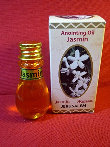 JasminジャスミンAnointingオイルエルサレムプラスチックボトル30 ml Authentic Fragrance byベツレヘムギフトTM B01KWGEXBI