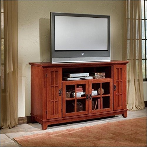 home-style-5180-10-arts-and-crafts-entertainment-credenza-cottage-oak-finish