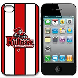 NCAA Rutgers Scarlet Knights Iphone 4 and 4s Case Cover
