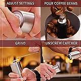 JavaPresse Manual Coffee Grinder with Adjustable