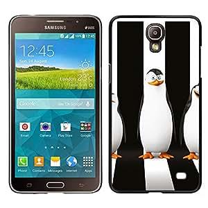 ZAKO CASE - Sly Penguin - FOR Samsung Galaxy Mega 2 - Carcasa Funda Case Bandera Cover Armor Shell
