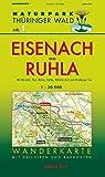 Wanderkarte Eisenach und Ruhla: Mit Hörschel, Thal, Möhra, Förtha, Wilhelmsthal und Altenberger See. Mit Skiloipen und Radrouten. Maßstab 1:30.000. (Naturpark Thüringer Wald)