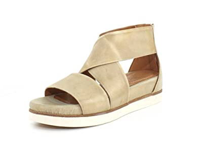 f8e8d81fd08 Bussola Womens Peggy Doeshkin Washed Nappa Sandal - 40