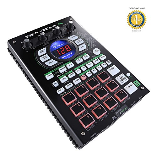 Roland SP-404A Linear Wave Sampler with 1 Year EverythingMusic Extended Warranty Free