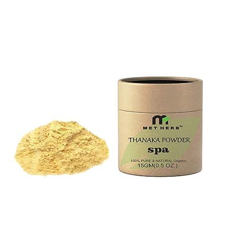 Buy Metherb Thanaka Powder 15g For Permanent Hair Removal Eco