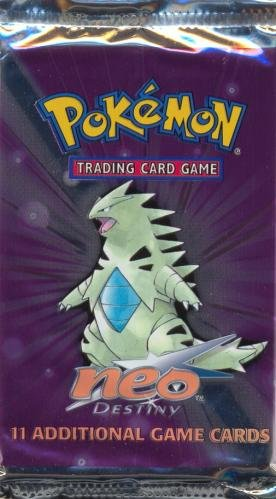 Pokemon Neo 4 Destiny American Trading Card Game Booster Pack (Newest Cards Pokemon)