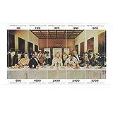 Stamps for collectors - Hollywood actors perforated stamp sheet featuring Laurel & Hardy / Elvis Presley / Clark Gable / Charlie Chaplin / Marilyn Monroe / James Dean / Humphrey Bogart / Fred Astaire / Frankenstein / Marlon Brando