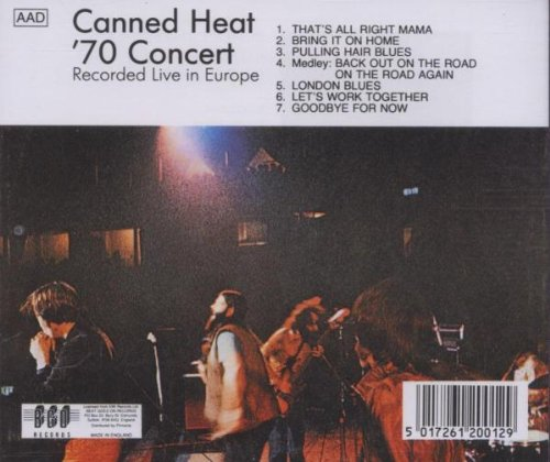 Live In Europe 1970