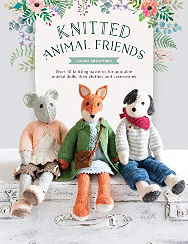 Knitted Animal Friends: Over 40 Knitting Patterns for for sale  Delivered anywhere in USA