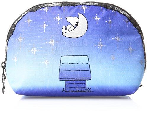 (LeSportsac Peanuts X Medium Dome Cosmetic Case, Twilight Moon)