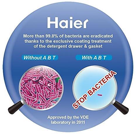 Lavadora Haier 8 kg A + + + -40% 1400 rpm Inverter hw80-bp14636 ...