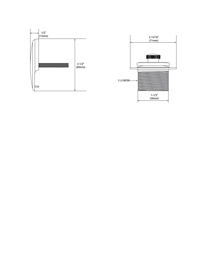Moen T90331PW Tub Drain Kit with Push-N-Lock Drain Assembly, Pewter - Sink And Drain Equipment - Amazon.com