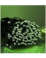 BOCbco Lampa solarna LED, zewnętrzna, LED, łańcuch świetlny LED, święto wróżek, święta Bożego Narodzenia, girlanda solarna, ogród, wodoszczelne, 1 2 m, 20 diod LED