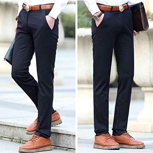 Adelina Pants Elastic Ajustée Noir Age Vêtements Homme Poche Eté Moyen Cotton rw6Efr