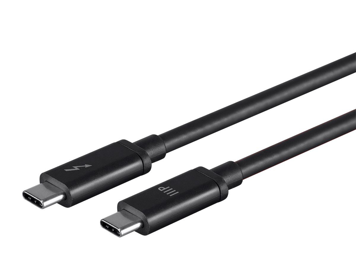 Monoprice Thunderbolt 3 (20 Gbps) USB-C Cable, 100W, 1.0m