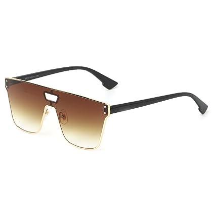 Kimruida - Gafas de Sol cuadradas con Lentes oceánicas UV400 ...