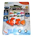 Robo Fish My Pet Fish Automatic Swimming Diving Robot Fish Toy- Pop Into Water And Watch It Swim - Perfect For Bath Toy Or Collect Them All For Aquarium With 2 Spare Batteries (Orange) by RoboFish