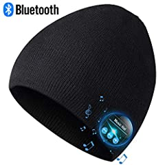 Take EverPlus Bluetooth Beanie Hat Home, Warm You from Head to Heart. Made for hands-free calling and wireless musical entertainment, EverPlus Bluetooth mens beanie hats for men provide a super-warm, ultra-soft, plush, that's designed to keep...