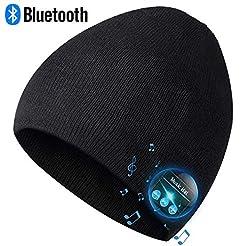 Bluetooth Beanie,Mens Gifts, Bluetooth H...