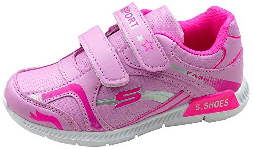 Gibra Zapatillas de Material Sintético Para Niña Rosa/Pink
