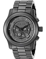 Michael Kors Watches Michael Kors Mens Black bracelet Chronograph Sport (Black)