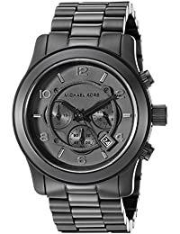 Watches Michael Kors Men's Black bracelet Chronograph...
