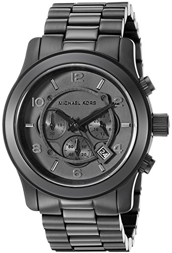 Michael Kors Watches Michael Kors Men's Black bracelet Chronograph Sport (Black) Black Ion Chronograph Watch