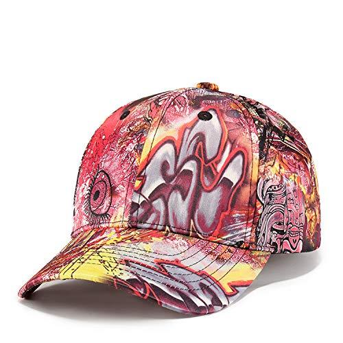 ZPYHJS Gorra de béisbol Splash Paint Graffiti Snapback Gorra Retro ...