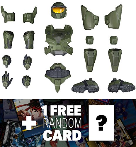 Halo Mark V Armor 4 Kotobukiya ArtFX+ Armor Set + 1 FREE Video Games Themed Trading Card Bundle