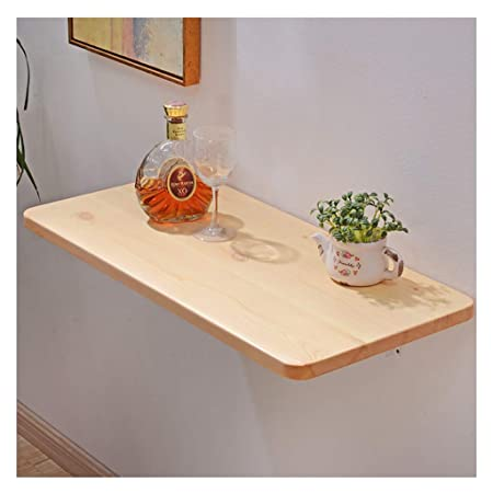 WYQ Mesa Plegable Cocina, Mesa Plegable Escritorio de Pared de ...