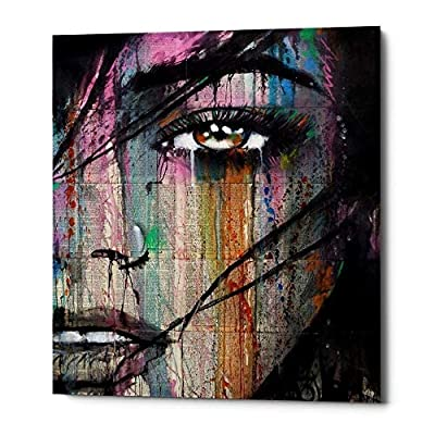 "Epic Graffiti""Merge"" by Loui Jover, Giclee Canvas Wall Art, 12""x18"""