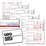 Federally approved and compliant. By the premier tax forms provider, Tangible Values. Everything you need to print, mail and file for 25 individuals/suppliers. Includes (3) 1096 forms. 2016 forms only.