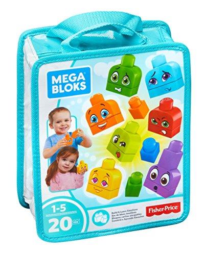 Mega Bloks Build & Learn Emotions Building Set from Mega Bloks