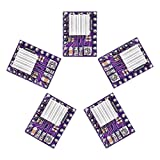 KINGPRINT DRV8825 Stepper Motor Driver Module with Heat Sink for 3D Printer Rrerap Ramps 1.4 A4988 (Pack of 5pcs)