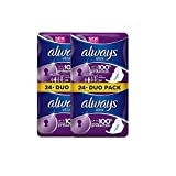 Always Sanitary Pads Long with Wings 48CNT