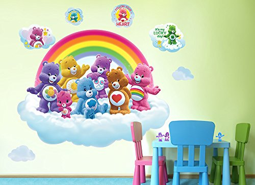 Care Bears Room Decor (Care Bears Rainbow Cloud Wall Decal)