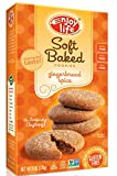 Enjoy Life Soft Baked Cookies, Gingerbread Spice, Gluten Free, Dairy Free, Nut Free & Soy Free, 6 Ounce (Pack of 6)