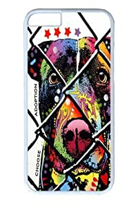 iPhone 6 Case, iPhone 6 Cases -choose adoption pit bull Custom PC Hard Case Cover for iphone 6 4.7 inch White