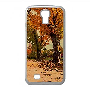 Autumn Watercolor style Cover Samsung Galaxy S4 I9500 Case (Autumn Watercolor style Cover Samsung Galaxy S4 I9500 Case)