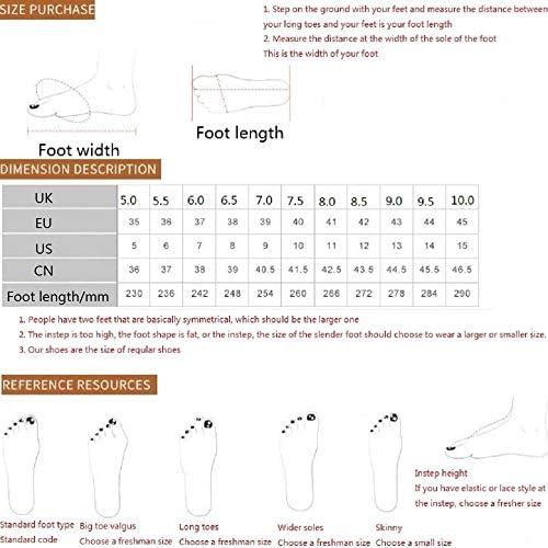 DWZZ Noce di Cocco Scarpe, Scarpe Sportive Donne degli Uomini dei Pattini Correnti Atletici Leggeri Casual a Piedi Scarpe Mesh - Traspirante Esecuzione Sneakers (Color : Style22, Size : EU41)