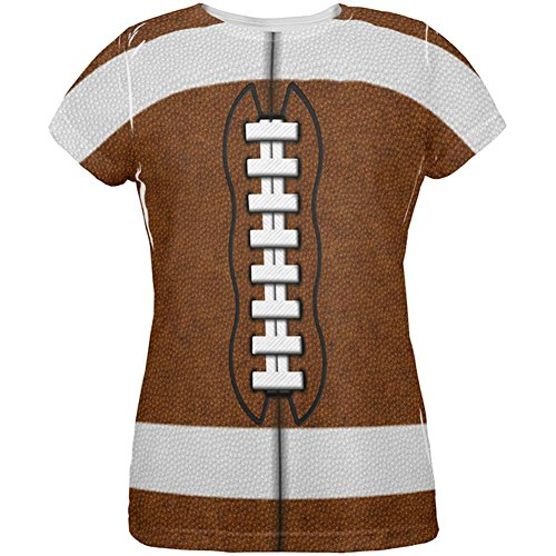 Old Glory Football Costume All Over Womens T Shirt Multi SM ()