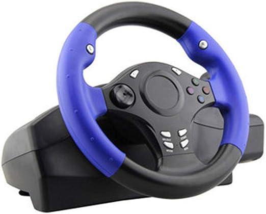 Ashey Volante de Carreras de 270 Grados, 7 en 1, con Pedal Sensible, para PS4 / para Xbox-One/para XBOX-360 / Switch/Android Simulation Drive: Amazon.es: Hogar