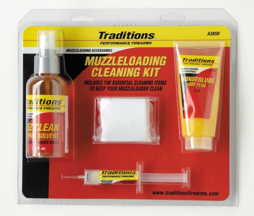 Traditions Performance Firearms Basic Muzzleloader Cleaning (50 Caliber Muzzleloader Cleaning Kit)