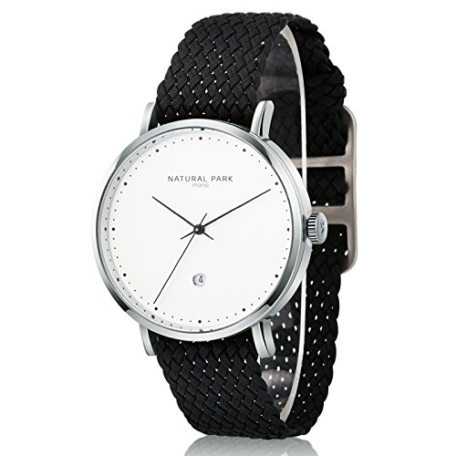 mens white dial luxury watches - 3