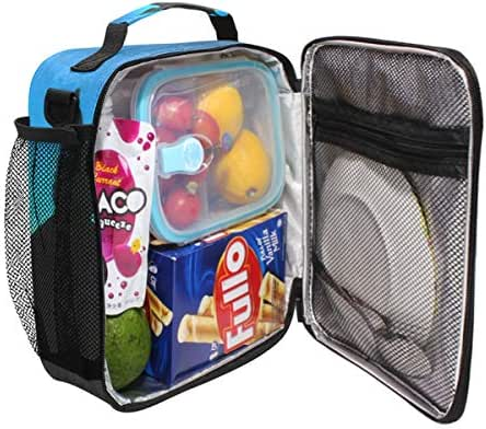 Durable Insulated Lunch Box,Hawksbill Sea Turtle Tote Reusable Cooler Bag LARGER Greater Storage Waterproof Grocery Bag to School Office Work