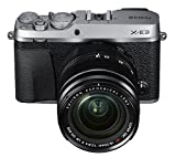 Fujifilm X-E3 Mirrorless Digital Camera w/XF18-55mm Lens Kit – Silver For Sale