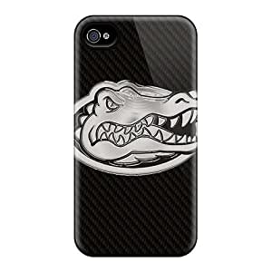 Apple Iphone 4/4s MLG16912ECrJ Provide Private Custom Attractive Florida Gators Series Scratch Protection Hard Phone Covers -RandileeStewart
