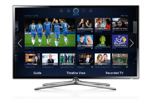 Samsung UE60F6300 60-inch Widescreen 1080p Full HD Smart LED TV with Freeview, S Recommendation, Dual Core Processing, Built In Wi-Fi